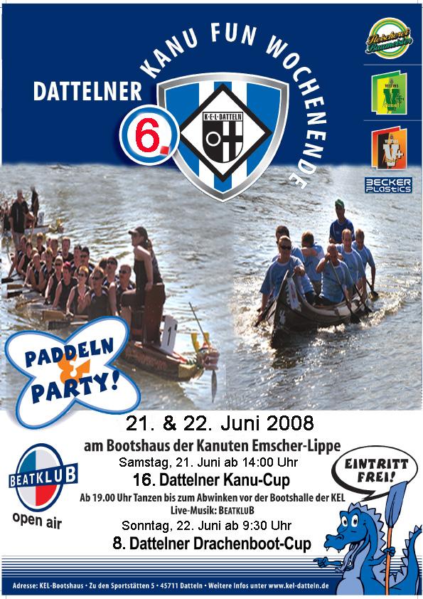 Drachenboot-Cup Datteln